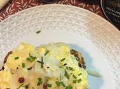Tosta Huevos Revueltos Queso Parmesano