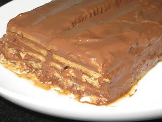 TARTA DE GALLETAS Y CHOCOLATE VEGANA