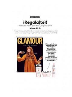 Suscripción Revista Glamour Enero 2021
