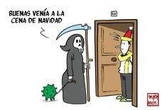 El Gordo de una Navidad diezmada por el Covid. Y, desde Abu Dabi, el emérito se escuda en la pandemia para no volver a España.