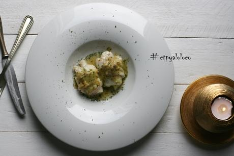Popietas de bacalao con calabacín