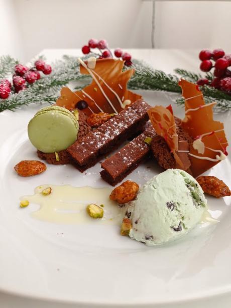 Menta y chocolate Navidad