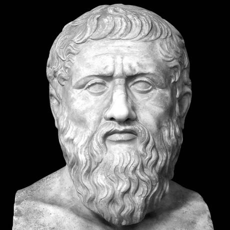Platón busto