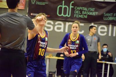 Galería de clics del Barça CBS-Segle XXI (Liga Femenina 2)