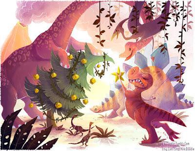 Unas cuantas ilustraciones paleonavideñas... (IV)