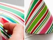Ideas para reciclar papel regalo Navidad