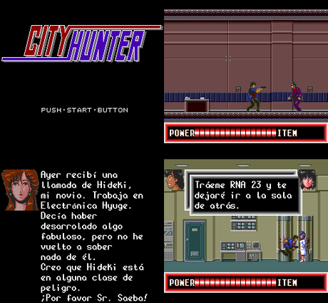 City Hunter de PC Engine traducido al español