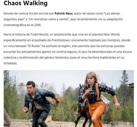 5 Libros que preparan su adaptación en cines para el 2021