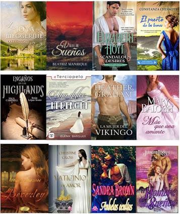 Mis lecturas para el Reto Romance histórico del blog «Mi biblioteca romántica»