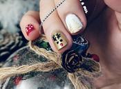 Diseño uñas para Navidad, Nochebuena, Nochevieja