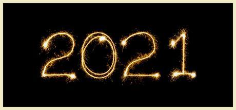 ¡Feliz año 2021! + Propósitos literarios
