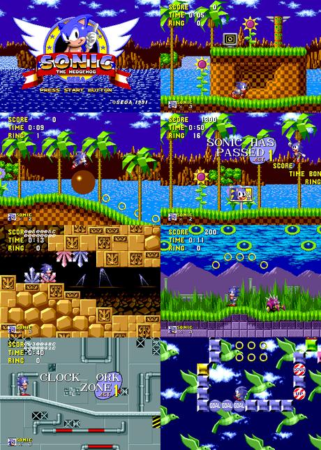 Liberado el prototipo de Sonic the Hedgehog para Sega Mega Drive / Genesis