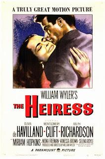 La heredera (The heiress, William Wyler, 1949. EEUU)