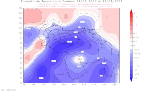 Disminuyen las temperaturas en Venezuela como habitualmente ocurre durante diciembre, enero y febrero ¿A qué se debe esto?