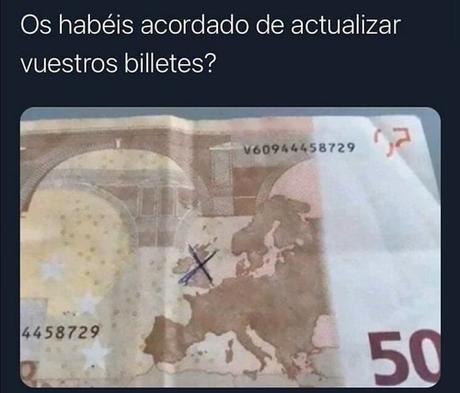 Los nuevos billetes