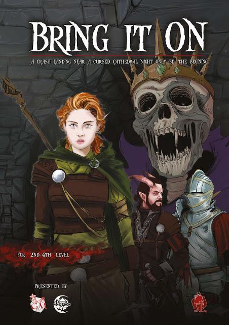 Bring It On, A TTRPG 5th Ed Adventure, de Geekstable