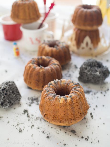 Mini Bundt Cakes de Reyes