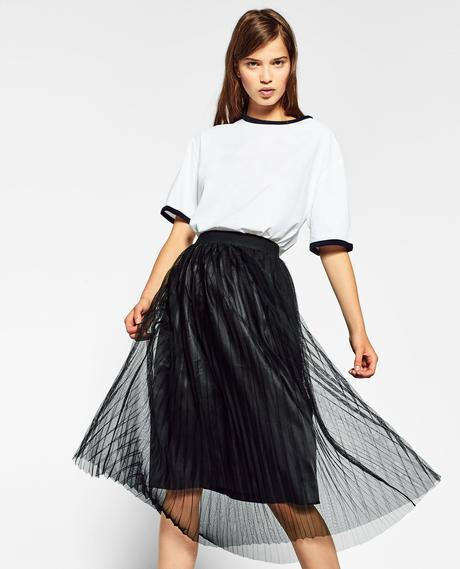 Falda Vaquera Zara Mujer