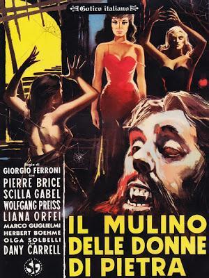 MOLINO DE LAS MUJERES DE PIEDRA, EL (MULINO DELLE DONNE DI PIETRA, IL) (MOULIN DES SUMINISTROS, LE) (Italia, Francia; 1960) Psycho Killer, Intriga