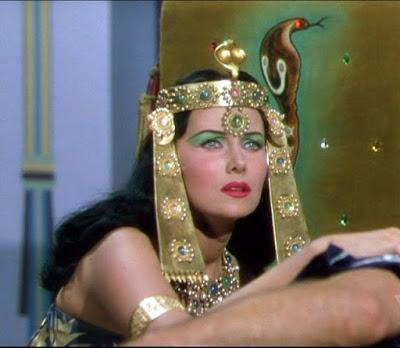 SERPIENTE DEL NILO, LA (CLEOPATRA: LA SERPIENTE DEL NILO) (AMORES DE CLEOPATRA, LOS) (Serpent of the Nile) (USA, 1953) Péplum