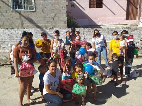 ICG Tecnos hace un reparto solidario con los más desfavorecidos de Santa Marta (Colombia)