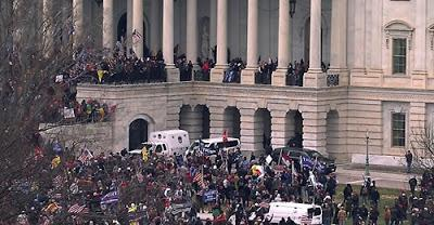 Seguidores de Trump asaltan el Capitolio de EEUU.