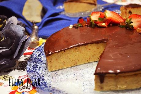 Tarta de roscón de Reyes