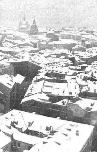 ¿Cuál ha sido la mayor nevada de la historia en Madrid?