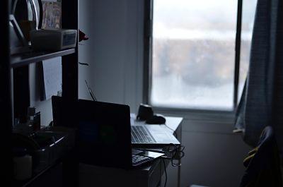 Trabajar desde casa con poco espacio