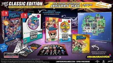 Scott Pilgrim vs. The World: The Game presenta sus ediciones limitadas para PS4