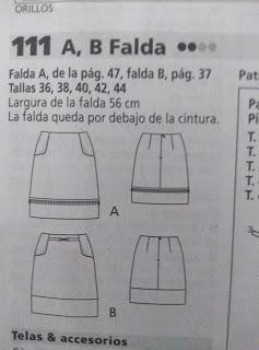 FALDA DE CUADRITOS VICHY