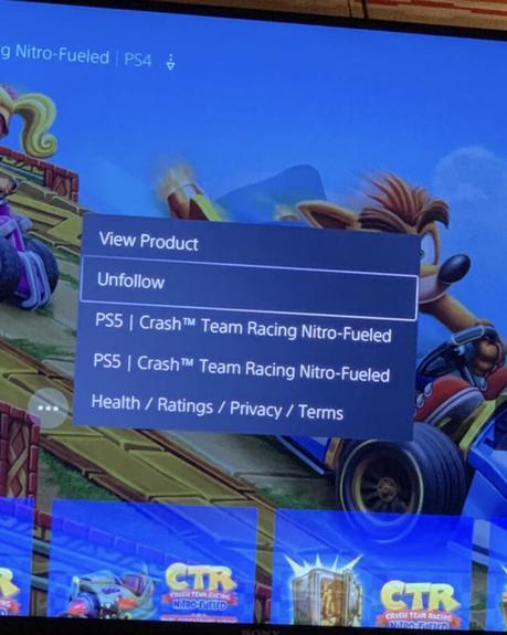 Crash Team Racing de camino a PlayStation 5