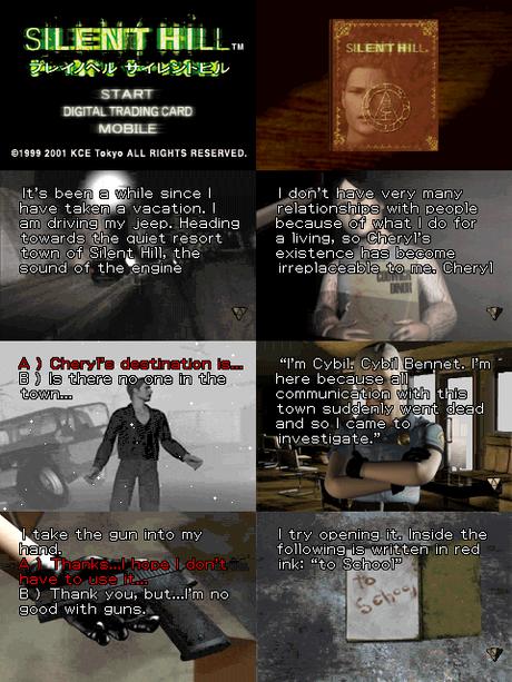 Play Novel: Silent Hill de Game Boy Advance traducido al inglés