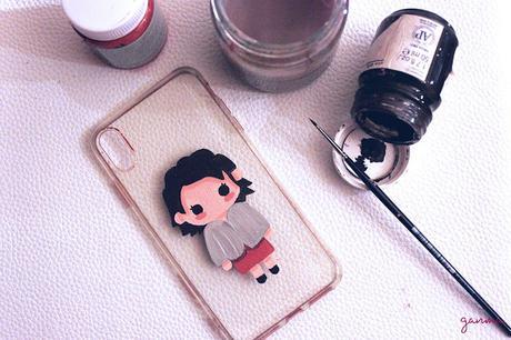 DIY: Personalizando la funda del teléfono.