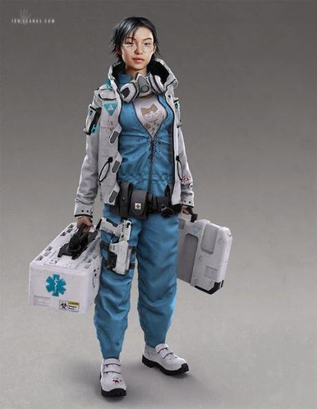 Cyberpunk Combat Medics, de valstoys