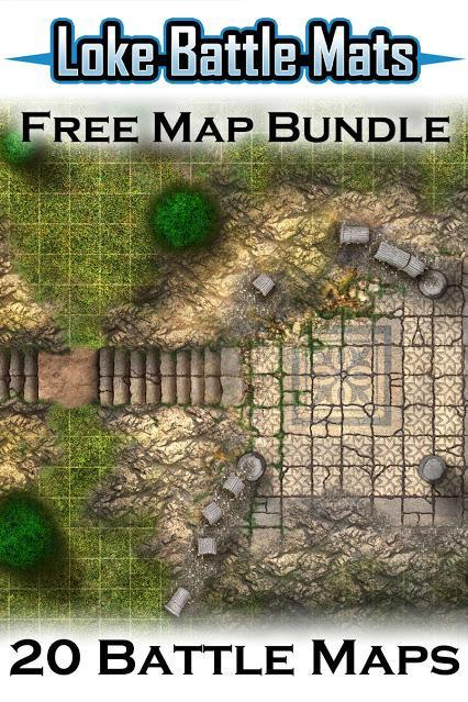 Free Battle Maps, de Loke BattleMats