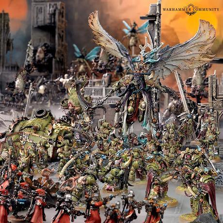 Warhammer Community: Resumen fugaz de ayer