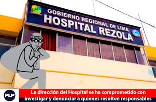 SE PIERDEN PERTENENCIAS DE PACIENTES EN HOSPITAL REZOLA…