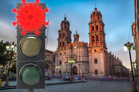 San Luis Potosí a nada de regresar a semáforo rojo