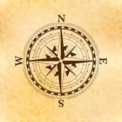 Los cuatro cuadrantes.    The four quadrants.     四個像限。