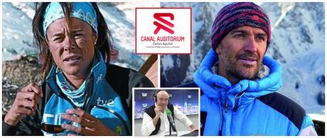 Sergi Mingote - El desafío del K2 en Canal Auditorium con Edurne Pasaban