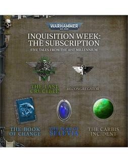 Empieza la semana de la Inquisición en Black Library
