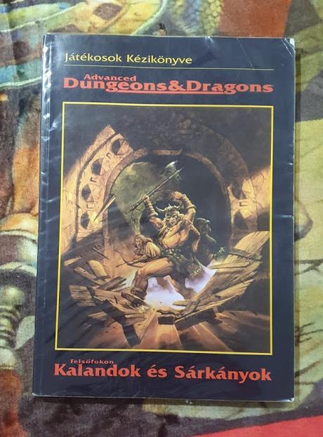 Diferentes idiomas, mismo libro: Manual del jugador de AD&D 2ª ed