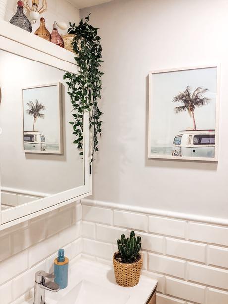3 rincones de mi casa decorados con láminas