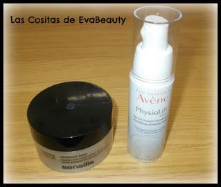 Crema facial UPGRADE de Sensilis y Sérum facial Avène