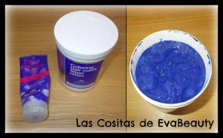 Champú y mascarilla capilar para cabellos rubios de KALLOS COSMETICS