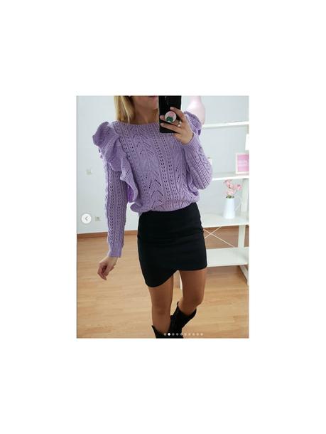 Falda Negra Antelina