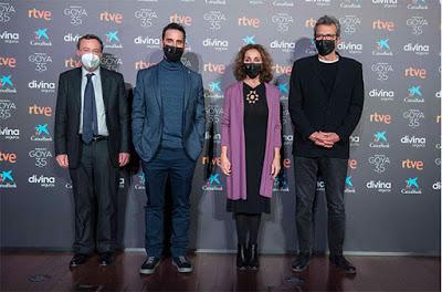 35 Premios Goya; Adú, Ane, La boda de Rosa, Las niñas y Sentimental se medirán por el Goya a la Mejor Película