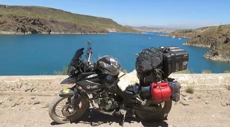 El gran viaje de la ruta 40 en moto de norte a sur: la novena etapa desde San Rafael hasta Malargüe.