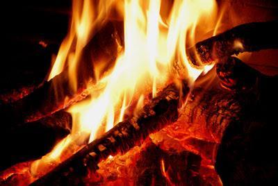 Still on fire